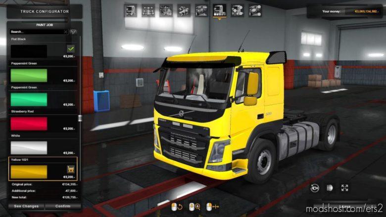 Volvo FM (1.38 & UP) V2.0 for Euro Truck Simulator 2