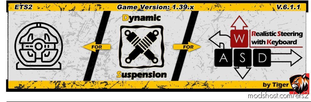 Dynamic Suspension V6.1.2 for Euro Truck Simulator 2