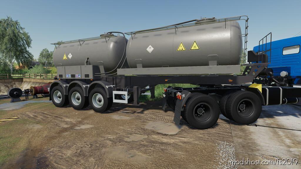 Nefaz 9509 Assenizator for Farming Simulator 19