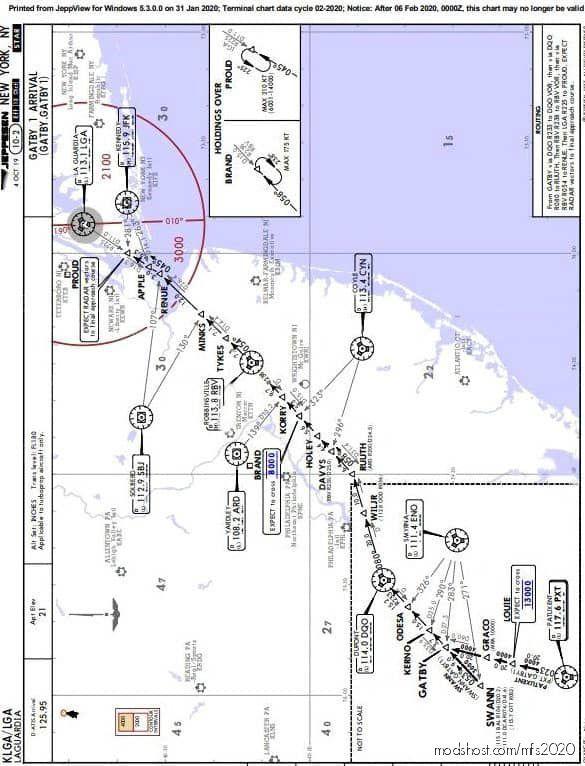 Charts Pack for Microsoft Flight Simulator 2020