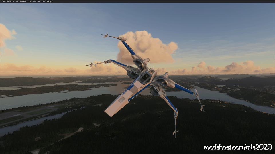 X-Wing T70 Aircraft for Microsoft Flight Simulator 2020