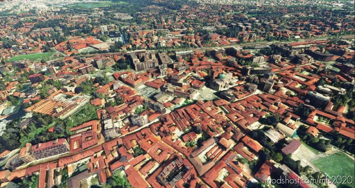 Gallarate City – Italy for Microsoft Flight Simulator 2020