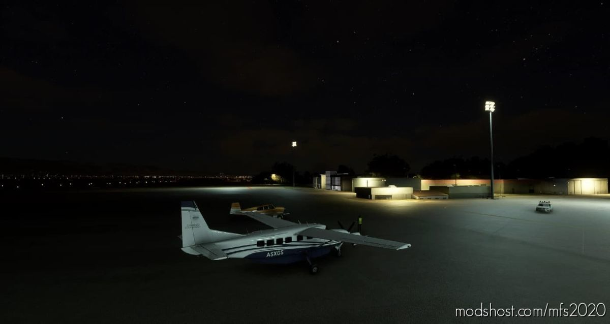 Cordoba Airport Lights-Leba for Microsoft Flight Simulator 2020