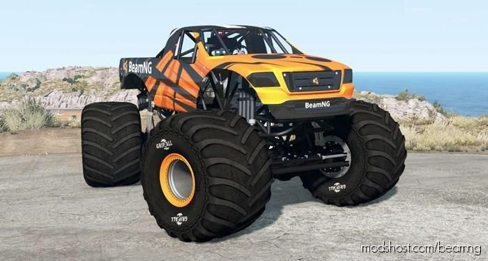 CRD Monster Truck V1.18 for BeamNG.drive