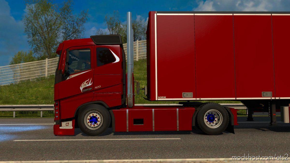 SCS FH16 Rework (Kinda) [1.38.X] for Euro Truck Simulator 2