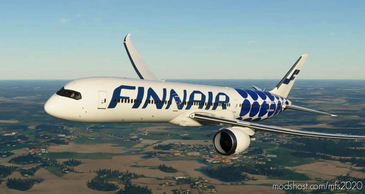 Boeing 787 – Finnair Marimekko Kivet for Microsoft Flight Simulator 2020