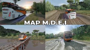 Map M.d.e.i Reworked By Rizky Arifin [1.30 – 1.38] for Euro Truck Simulator 2