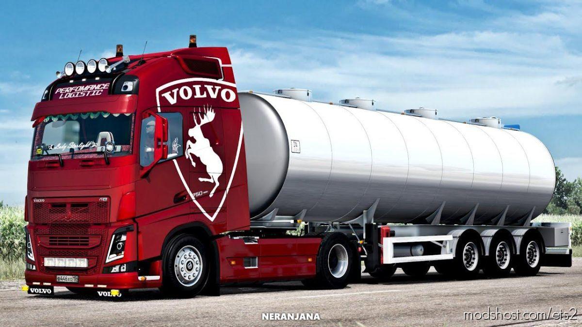 Volvo FH4 Generation [1.38] for Euro Truck Simulator 2