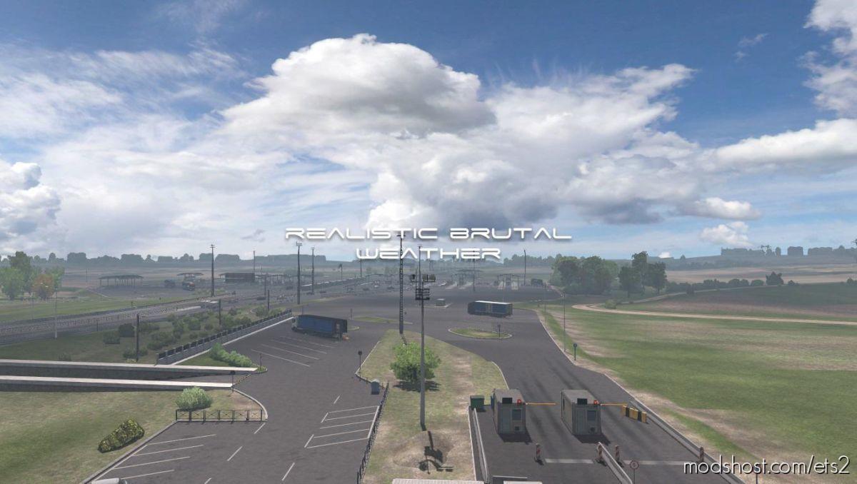 Realistic Brutal Weather V5.7 for Euro Truck Simulator 2