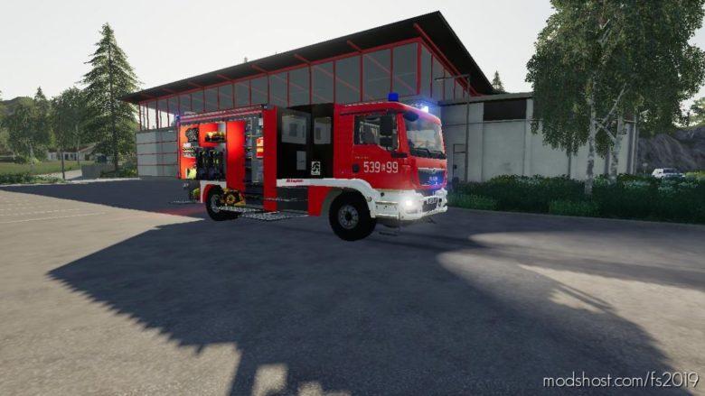 MAN Gcba Polskie Malowanie V3.0 for Farming Simulator 19