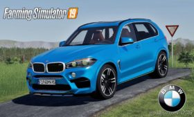 BMW X5M for Farming Simulator 19