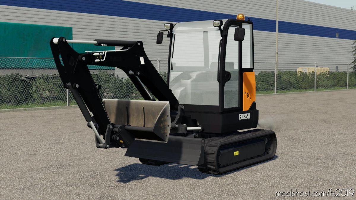 Volvo Ecr25D for Farming Simulator 19
