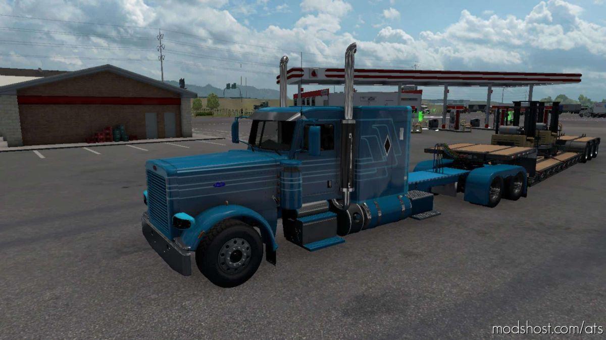 Peterbilt Pinga Truck V1.5 [1.39] for American Truck Simulator