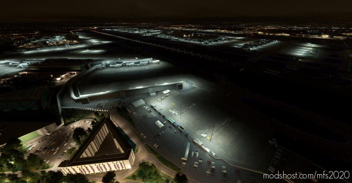 Egll Heathrow Premium Edition – Night Lighting Improvement for Microsoft Flight Simulator 2020