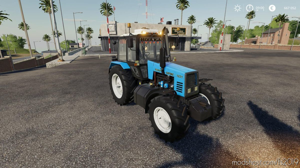 MTZ 1221- Alteration V0.1 for Farming Simulator 19