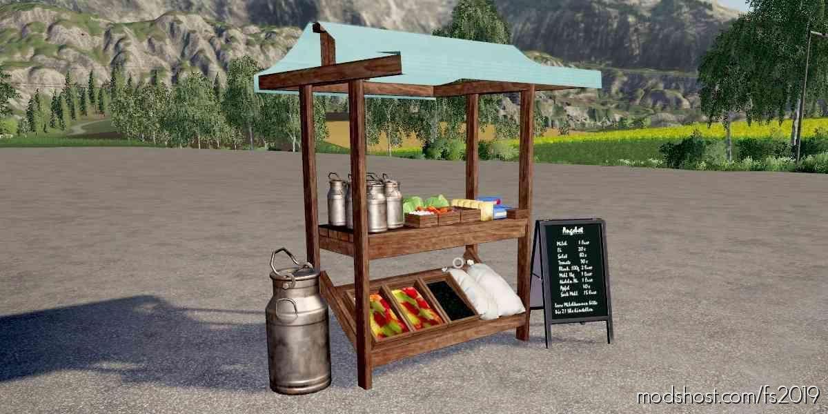Market Stall for Farming Simulator 19