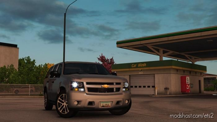 Chevrolet Tahoe 2007 [1.38] for Euro Truck Simulator 2