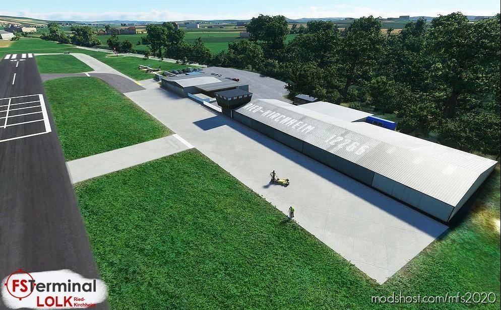 Lolk Flugplatz Ried-Kirchheim for Microsoft Flight Simulator 2020