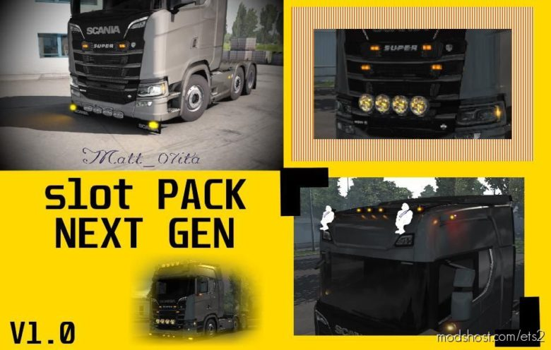 Scania Next GEN Slot Pack for Euro Truck Simulator 2