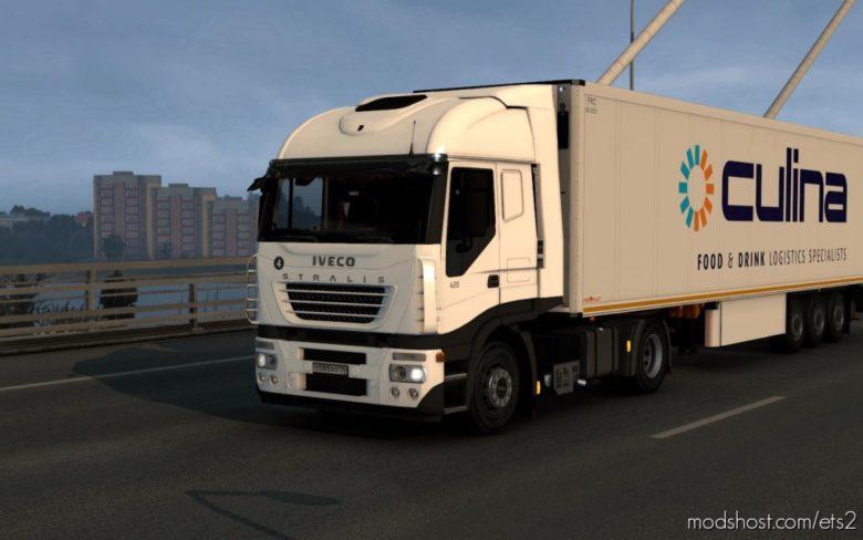 Iveco Stralis 2002 V1.2 for Euro Truck Simulator 2