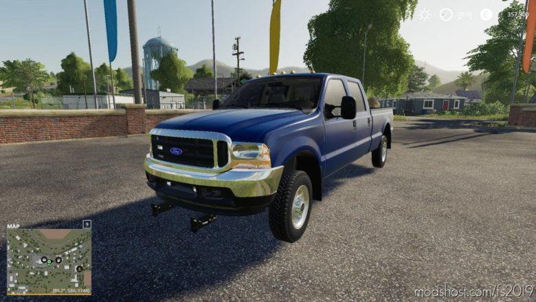 1999 Ford F-350 for Farming Simulator 19