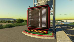 LED Panel Silo Display for Farming Simulator 19
