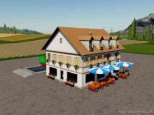 Hotel Restaurant Selling Station for Farming Simulator 19