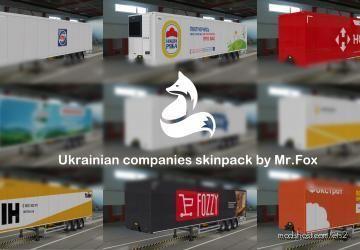 Ukrainian Companies Skinpack By Mrfox V1.1 for Euro Truck Simulator 2