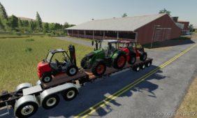 Step Deck Trailer IBM LPM85 for Farming Simulator 19