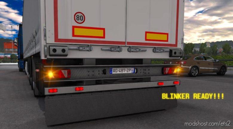 Rework Mudflap + Slot + Rework ECO Light [1.38] for Euro Truck Simulator 2