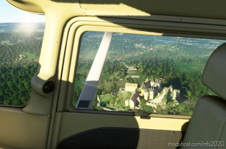 55 Castles In French Dordogne for Microsoft Flight Simulator 2020