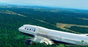 Boeing 747-400 Varig Brasil for Microsoft Flight Simulator 2020