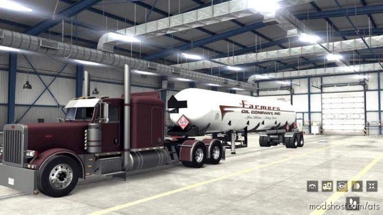 Broketrain LLC LPG Tanker [1.38] for American Truck Simulator