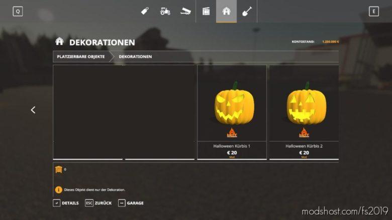 HOT Pumpkins For Halloween for Farming Simulator 19
