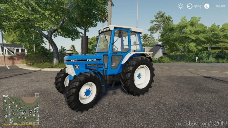 Ford 7610 for Farming Simulator 19