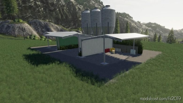 Realistic Large Seed Storage for Farming Simulator 19