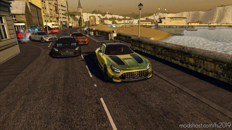 Mercedes AMG GT Black Series 2021 for Farming Simulator 19