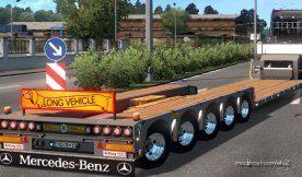 Roadhunter Lowloader Trailer Pack [1.38] for Euro Truck Simulator 2
