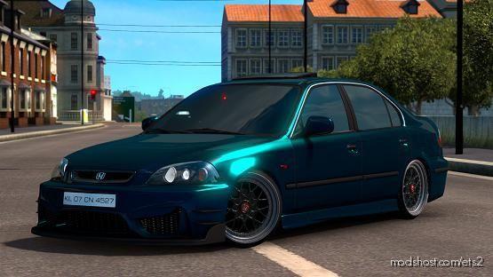 Honda Civic IES V6.0 [1.38] for Euro Truck Simulator 2