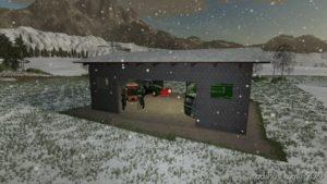 Medium Concrete Shed for Farming Simulator 19