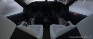 Daher TBM 930 Black/White Interior for Microsoft Flight Simulator 2020