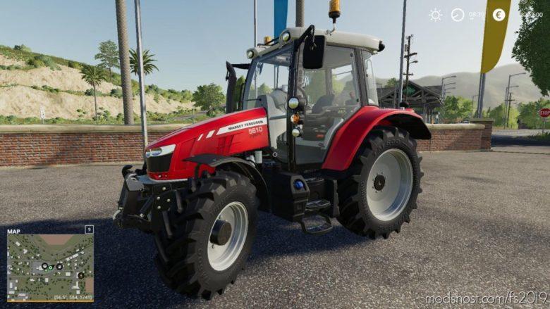 Massey Ferguson 5400 V2.0 for Farming Simulator 19