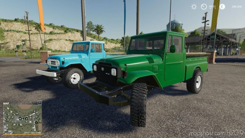 Toyota Bandeirantes 1962 for Farming Simulator 19