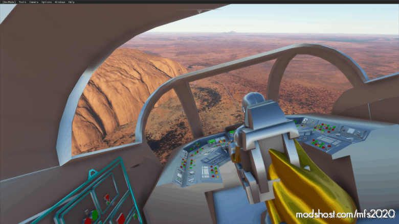 Added Razor Crest From Mandallorian Aircraft for Microsoft Flight Simulator 2020