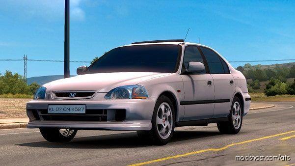 Honda Civic IES V6.0 [1.38] for American Truck Simulator