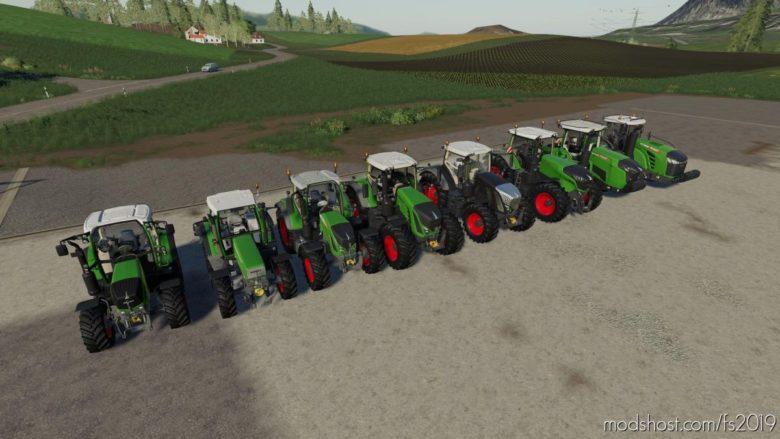Fendt Pack V1.0.5 for Farming Simulator 19