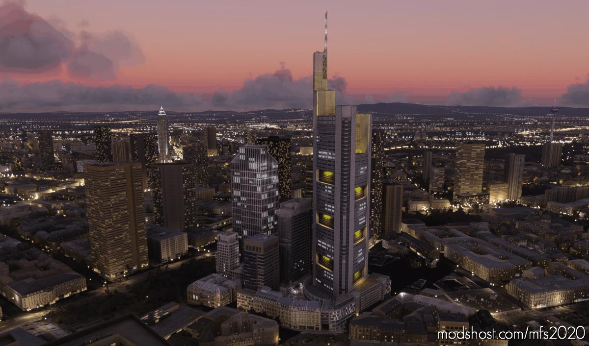 Taunus Tower In Frankfurt for Microsoft Flight Simulator 2020