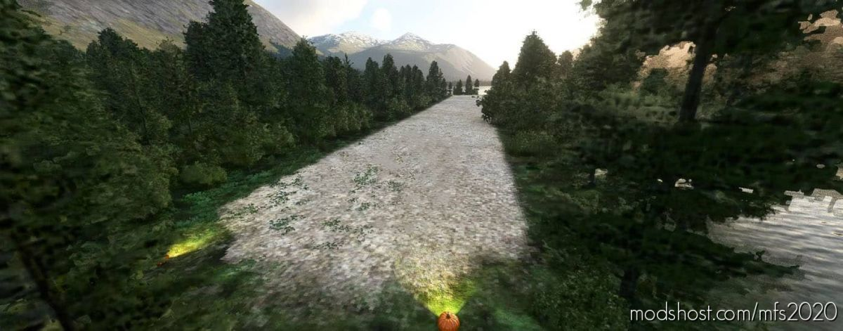 Thumb Lake Bushport W/ Water Runway! for Microsoft Flight Simulator 2020
