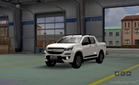 Chevrolet S10 High Country 2017 V3 [1.38] for Euro Truck Simulator 2