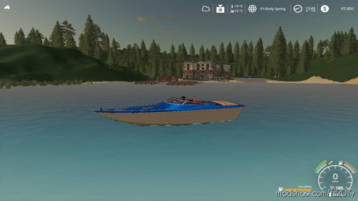 Goldcrest Valley Marina (Boat Compatible) V2.0 for Farming Simulator 19